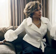 One of the finest Black women in Hollywood.  She's beautiful, classy and sophisticated.