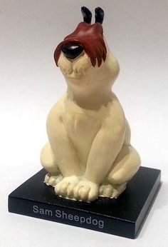 "Sam Sheepdog (Sam Canepastore), numero 24 della ""Looney Tunes Collection"" (2012) #Miniatures #Figures #LooneyTunes"