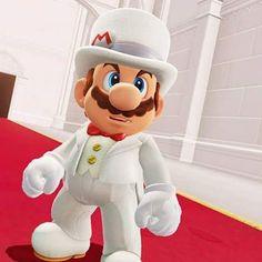 Wedding Mario is ready