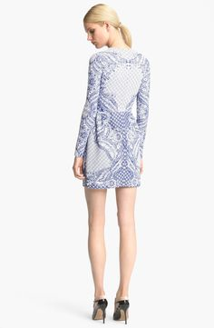 Valentino Embroidered Knit Dress | Nordstrom
