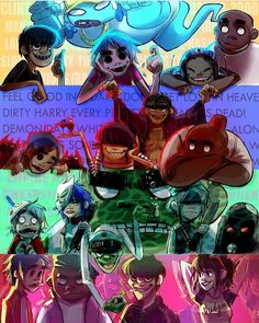 """3,173 Me gusta, 46 comentarios - Gorillaz  