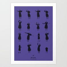 Beetlejuice Art Print by Niege Borges