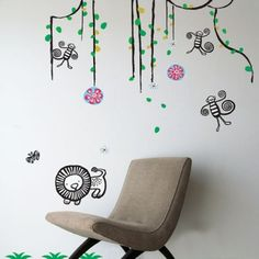 Wee Gallery Jungle Wall Stickers