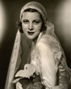 Frances Dee by Eugene Robert Richee c.1932 actress in the 1930s 1940s - married to Joel McCrea