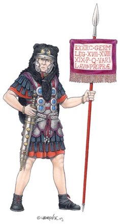 The Romans were dealt a serious blow to their prestige with their defeat in the Teutoburg Forest in AD 9 at the hands of Germanic tribes.