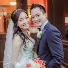 great vancouver wedding Mai and Hahn. What a beautiful couple. #makeupbygracesham#vancouvermakeupartistfreelancemakeupartist#wedding#joblove#coupleinlove#asianbride#asianmakeup by @makeupbygracesham  #vancouverwedding #vancouverwedding