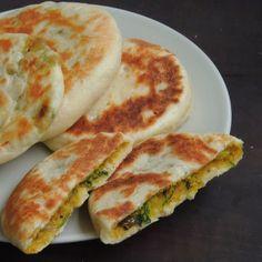 Channadal Kulcha/Dal Stuffed Mini Kulcha, How to make Channadal Kulcha/Dal Stuffed Mini Kulcha