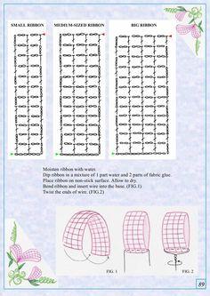 The Book of Crochet Flowers 2 - page 89 Crochet Flower Patterns, Crochet Stitches Patterns, Crochet Motif, Crochet Flowers, Fabric Flowers, Crochet Books, Crochet Crafts, Crochet Projects, Wiggly Crochet