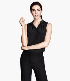 H&M Sleeveless Blouse $29.95
