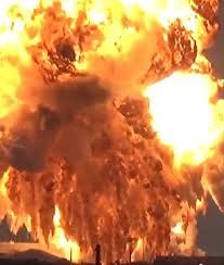 Image result for explosion through steel wall