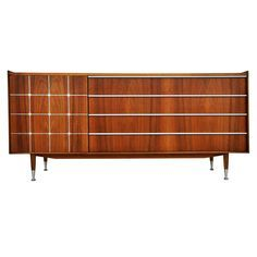 Delicieux More NYC Mid Century Furniture Goodies At Circa60. See More. Edmund Spence;  Walnut And Aluminum Sideboard, 1960s.