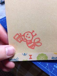 ハンドメイド:封筒作ってみた。