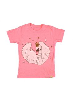 Swan Tee   Pink - GIRL - Products   Fawn Shoppe - Global Boutique For Unique d2408526a90