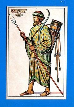 ARMI E SOLDATI - Edis 71 - Figurina-Sticker n. 38 - GUARDIA PERSIANA -Rec