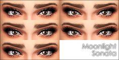 Moonlight Sonata 5 mascaras by Vampire aninyosaloh at Mod The Sims via Sims 4 Updates