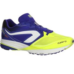 Check out our New Product  Mens kiprun SD running shoes in blue yellow Shoes Made for Road runners with a universal stride seeking performance over short distances.The KIPRUN SD running shoe has been designed to meet the needs of experienced short distance runners 10 and 15km. The models strengths are its PROPULSION and LIGHT WEIGHT.  ₹5,499