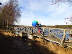 Palloillaan Juovan sillalla :-)