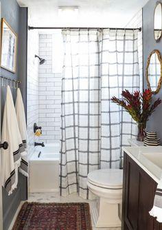 » DIY DUPLEX | Bathroom Before & After plus DIY Light Upgrade