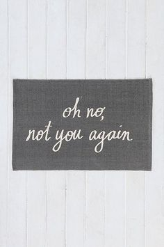 Doormats That'll Make You Smile - http://www.decorationhunt.com/architecture/doormats-thatll-make-you-smile/