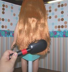 More tips on doll hair care.