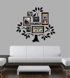 Family Tree Decal Kit Vinyl Wall Lettering Vinyl Wall