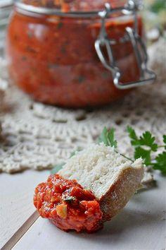 Pesto de pimientos rojos asados - LAS SALSAS DE LA VIDA