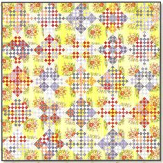 Chippewa Nine Patch quilt by Minick & Simpson