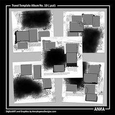 MyST AASPN Travel Template Album No. 1D
