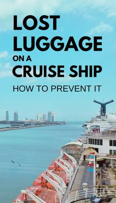Your cruise essentials and cruise outfitsare in your suitcase that you've spent good time packing, and it would become a really stressful embarkation day if your cruise luggage didn't arrive to your stateroom! Make sure the cruise staff knows where to deliver your bags by making one of the things to do for your cruise to havedurable cruise luggage tags so you can prevent lost luggage on the cruise ship when you travel.