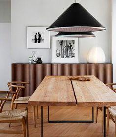 Os mostramos seis mesas de comedor de madera natural para que te inspires a la…