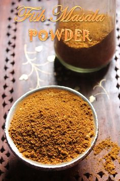 40 ideas for recipes fish healthy sauces Masala Powder Recipe, Masala Recipe, Podi Recipe, Recipe Mix, Masala Fish Recipes, Indian Food Recipes, Homemade Spices, Homemade Seasonings, Masala Spice