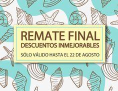 Remate final en Agosto con Descuentos inmejorables en tus perfumes favoritos.   http://elblogdeperfumesrioja.com/remate-final-descuentos-inmejorables/