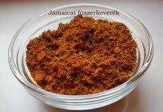 Jamaicai fűszerkeverék recept képpel. Hozzávalók és az elkészítés részletes leírása. A jamaicai fűszerkeverék elkészítési ideje: 1 perc Kaja, Spice Mixes, Diy Projects To Try, Jamaica, Spices, Meat, Recipes, Food, Kitchens