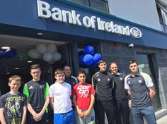 The Waterford hurlers have arrived here at @bankofireland Ardkeen. Pop down and say hello! #wlrfm #waterford #bankofireland #nationalenterpriseweek #upthedeise