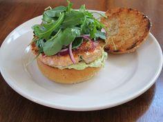 Salmon Burgers with Avocado Aioli recipe on Food52.com
