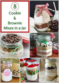 & Brownie Mixes in a Jar make great gifts for busy bakers, neighbors and friends.Cookie & Brownie Mixes in a Jar make great gifts for busy bakers, neighbors and friends. Mason Jar Cookie Recipes, Mason Jar Desserts, Mason Jar Cookies, Mason Jar Meals, Mason Jar Gifts, Meals In A Jar, Jar Recipes, Gift Jars, Freezer Recipes