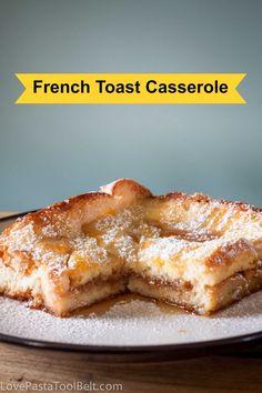 French Toast Cassero