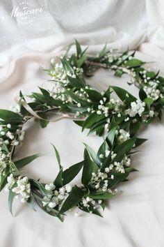 Wianki ze świeżych kwiatów | Muscari
