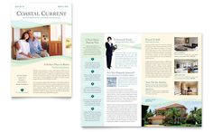 Coastal Real Estate - Newsletter Template Design