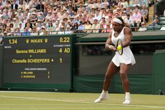 Serena Williams during her match on No.1 Court - Jon Buckle/AELTC