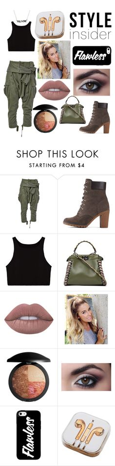 """""""Untitled #59"""" by grungehippiee ❤ liked on Polyvore featuring Faith Connexion, Timberland, Fendi, Lime Crime, PhunkeeTree, contestentry and styleinsider"""