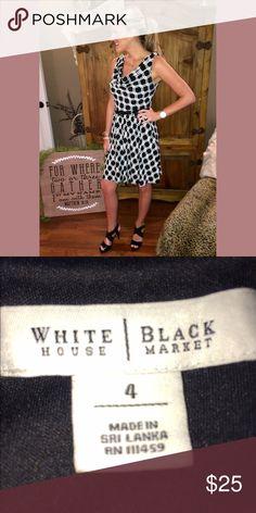 White House || Black Market classy dress || 4 ✨ White House || Black Market classy dress || 4 ✨ || no trades || make an offer 💕 White House Black Market Dresses Mini