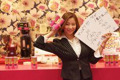 大田明奈さんのサインいただきました!本日はお疲れ様でした!またのご来店お待ちしております♪ #vegas1200 #大田明奈 #TV