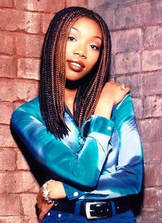 "Brandy Norwood (Moesha aka ""Mo"") A lil ""moesha"" nostalgia--takes me back to my middle/high school days :)"