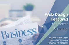 Essential #Web #Design Features for better #Business The present is the era of Internet entrepreneurs. The first step towards Internet based entrepreneurship is to have a website designed. Once a business website is designed, it requires consistent improvement of some of the essential features, which are more or less related to conversion and ROI goals of the business. http://dbanerjee.com/web-design-features/