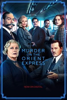 Agatha Christie's classic comes to life. Murder on the Orient Express is now on Digital.