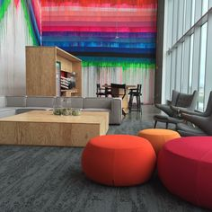 Facebook Office, Manelo Park with Interface carpet