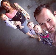 josh, anna duggar & the kids