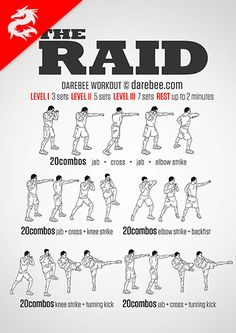 I freaking love these martial arts workouts.  I mean, I suck at them, but they're so. much. fun.  I think they work well for warm-ups and cool-downs, because, apparently, I have no idea how to do any of them properly.