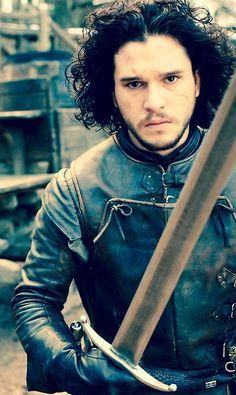"Kit Harington as Jon Snow, ""Game of Thrones"""
